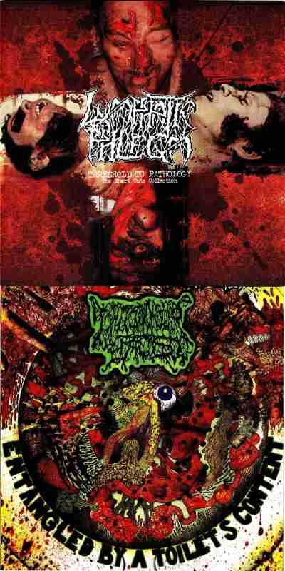 Lymphatic Phlegm / I Shit on Your Face - Threshold to Pathology - The Short Cuts Collection / Entangled by a Toilets Content