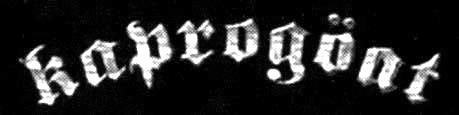 Kaprogöat - Logo