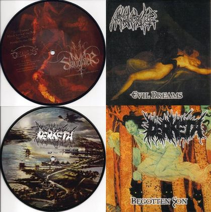 Nunslaughter / Derkéta - Begotten Son / Evil Dreams