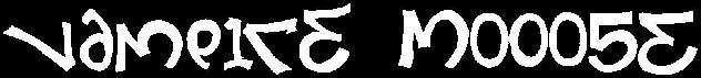 Vampire Mooose - Logo