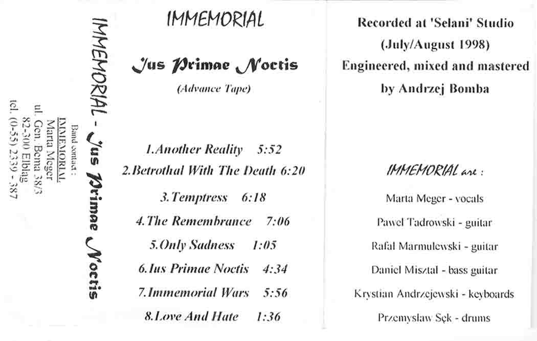 Immemorial - Ius Primae Noctis