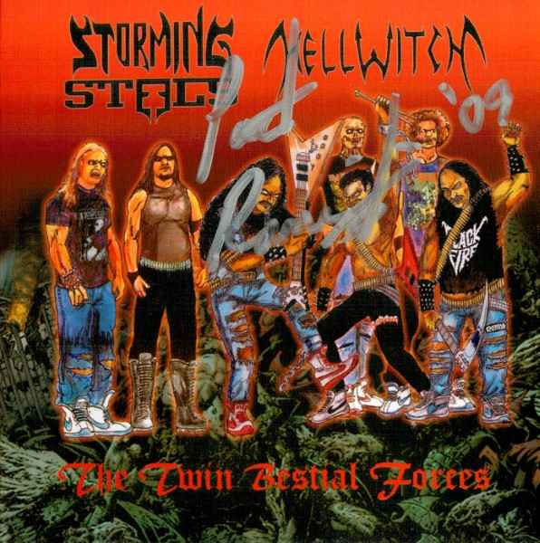 Hellwitch / Storming Steels - The Twin Bestial Forces