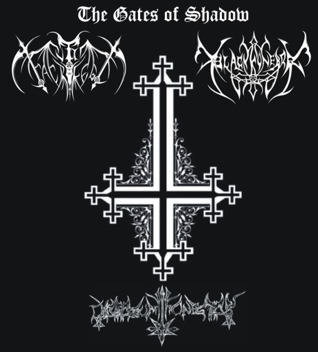Black Funebre / Culto Sacrilego / Calvarium Funestus - The Gates of Shadow