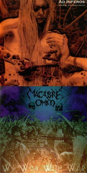 Macabre Omen / Ad Inferos - Macabre Omen / Ad Inferos