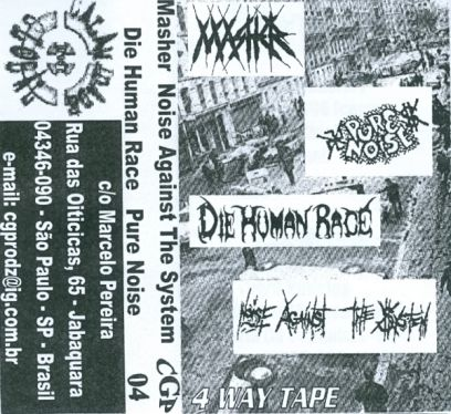 Die Human Race - 4 Way Tape