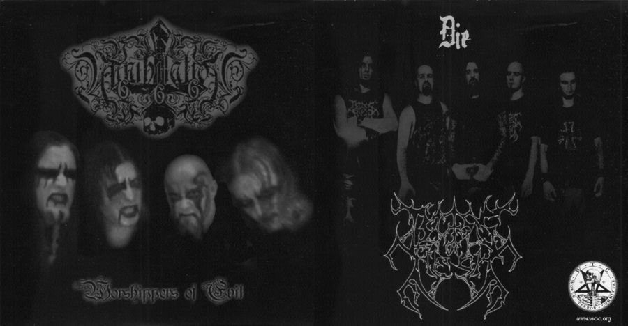 Bliss of Flesh / Annihilation 666 - Worshippers of Evil / Die