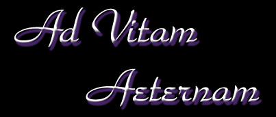 Ad Vitam Aeternam - Logo