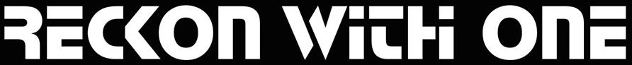 Reckon with One - Logo
