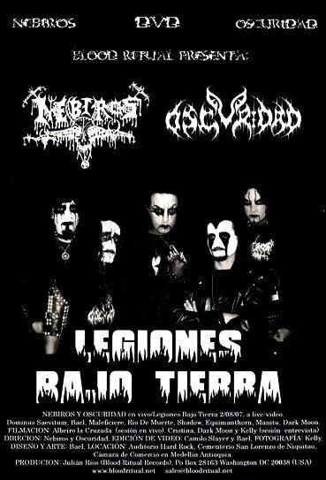 Nebiros / Oscuridad - Legiones bajo tierra