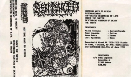 Sentenced - Rotting Ways to Misery