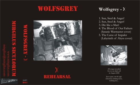 Wolfsgrey - B Rehearsal