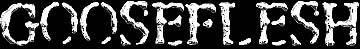 Gooseflesh - Logo