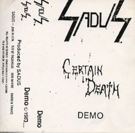 Sadus - Certain Death