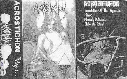 Acrostichon - Prologue