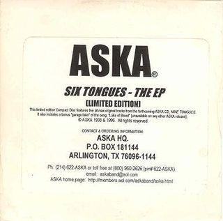 Aska - Six Tongues