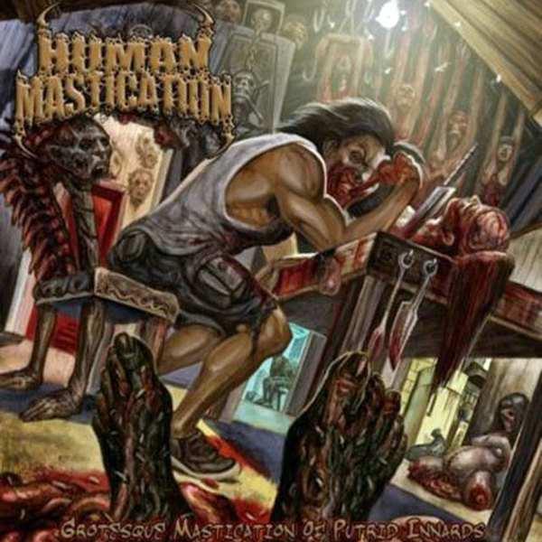 Human Mastication - Grotesque Mastication of Putrid Innards