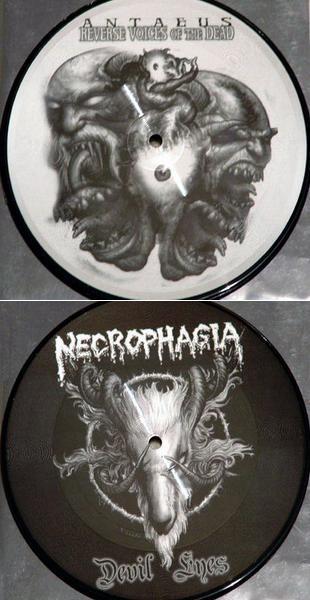 Necrophagia / Antaeus - Reverse Voices of the Dead / Devil Eyes