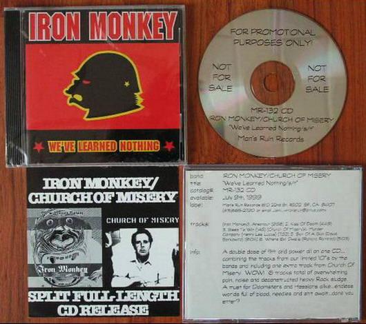 Church of Misery / Iron Monkey - We've Learned Nothing