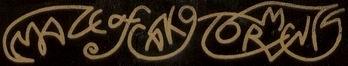 Maze of Cako Torments - Logo