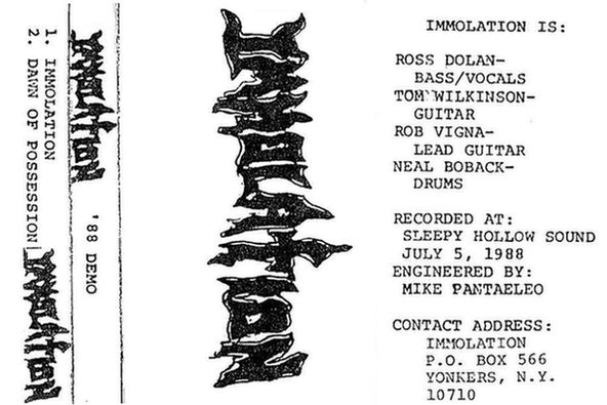 Immolation - '88 Demo