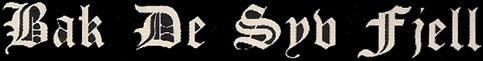 Bak de Syv Fjell - Logo