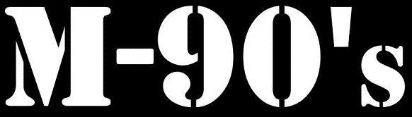 M-90's - Logo