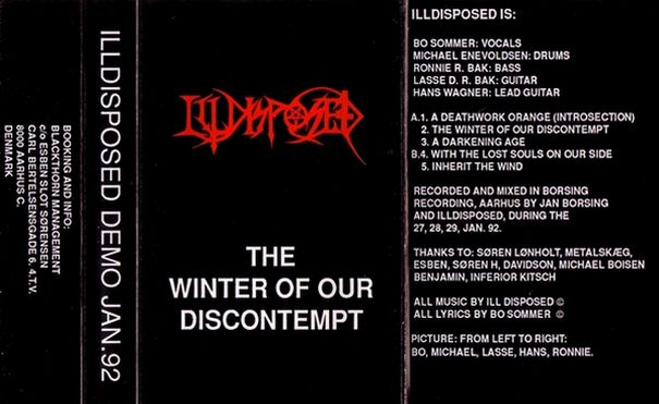 Illdisposed - The Winter of Our Discontempt