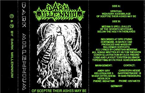 Dark Millennium - Of Sceptre Their Ashes May Be