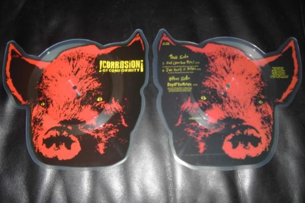 Corrosion of Conformity - Pighead Shaped Picture Disc