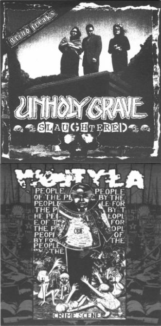 Unholy Grave / Wojtyła - Crime Scene / Slaughtered