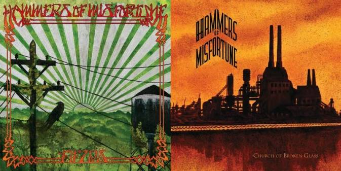 Hammers of Misfortune - Fields / Church of Broken Glass