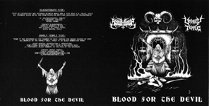 Slaughtbbath / Unholy Temple - Blood for the Devil
