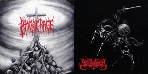 Demonic Rage / Slaughtbbath - Furious as the Black Flames of Hell / The Anguish's Doomaelstrom