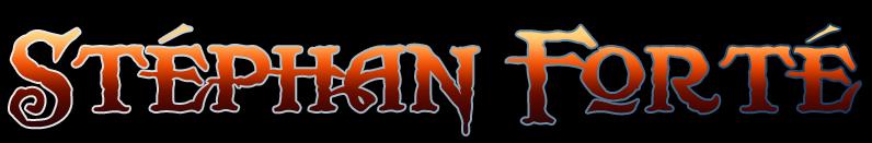 Stéphan Forté - Logo