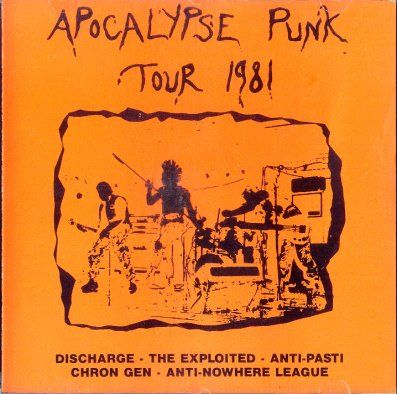 The Exploited / Discharge - Apocalypse Punk Tour 1981