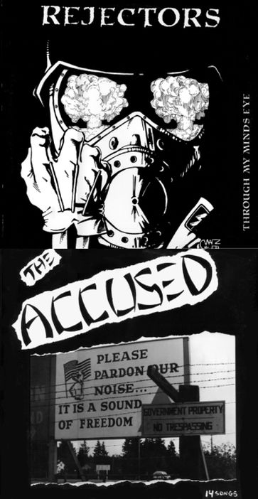 The Accüsed - Through My Mind's Eye / Please Pardon Our Noise... It Is a Sound of Freedom