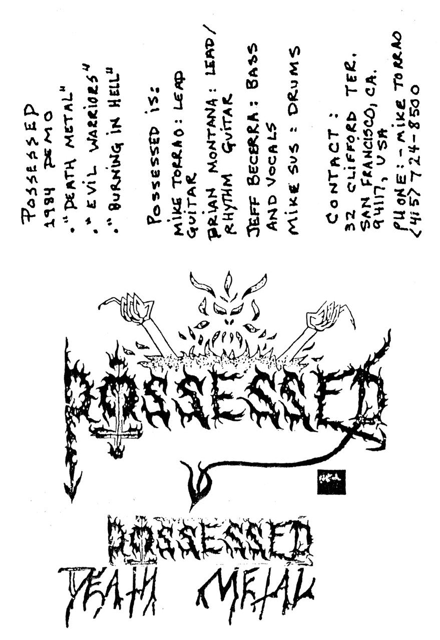 Possessed - Death Metal