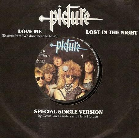 Picture - Love Me / Lost in the Night