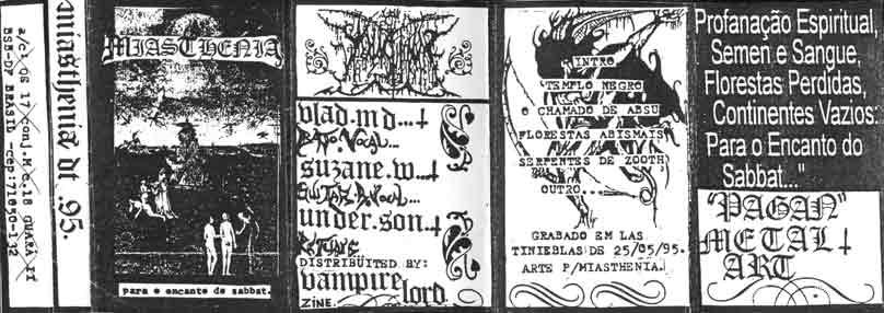 Miasthenia - Para o Encanto do Sabbat...