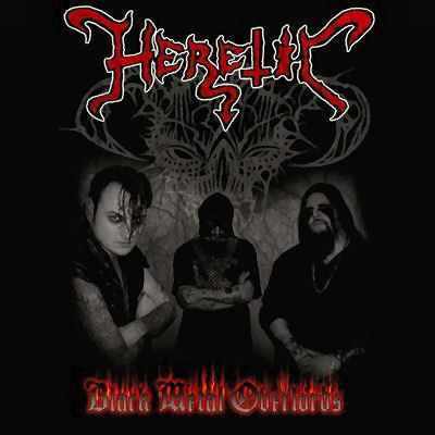 Heretic / Capitis Damnare - Black Metal Overlords