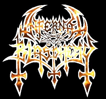 Infernal Blasphemy - Logo