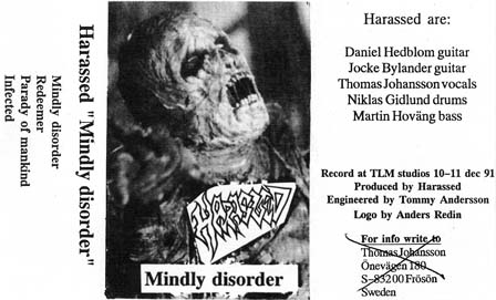 Harassed - Mindly Disorder