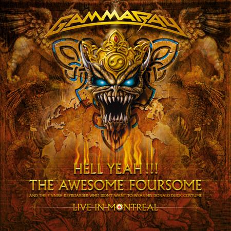 Gamma Ray - Hell Yeah!!! The Awesome Foursome