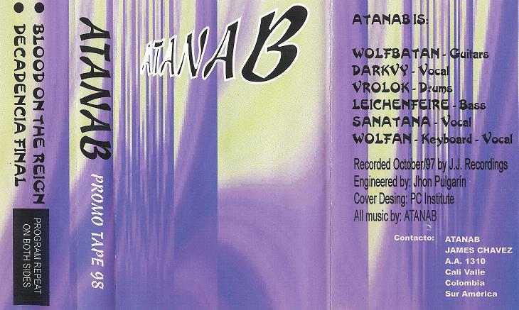 Atanab - Promo Tape 98