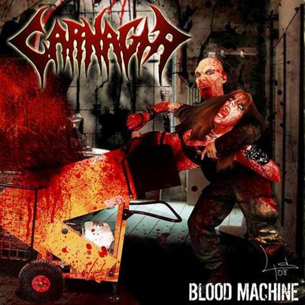 Carnagia - Blood Machine (2008) Brutal Death metal 219769