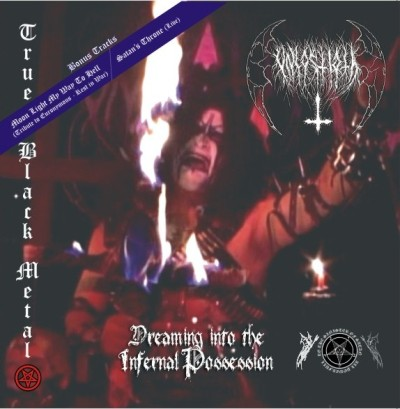 Dreaming into the Infernal Possession cover (Click to see larger  picture)