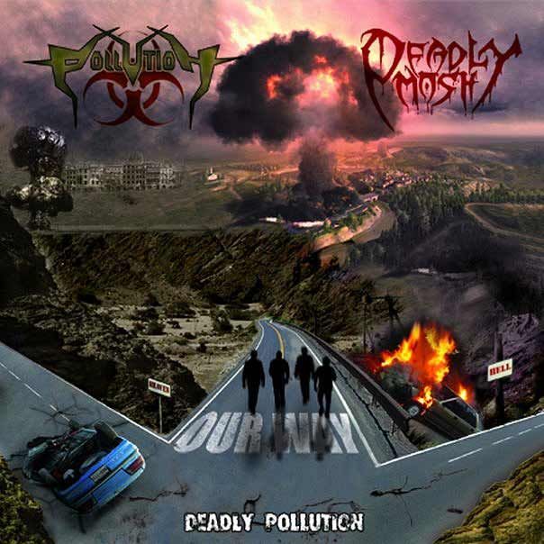Pollution / Deadly Mosh - Deadly Pollution