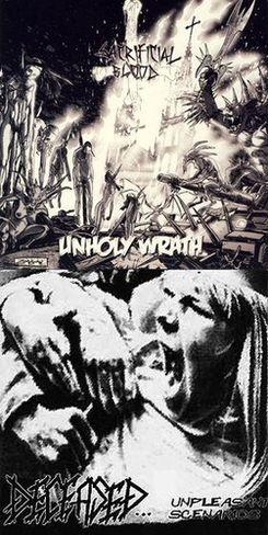 Deceased / Sacrificial Blood - Unpleasant Scenarios / Unholy Wrath