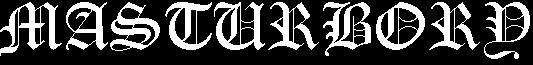 Masturbory - Logo