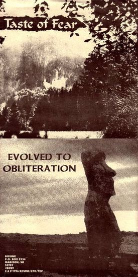 Taste of Fear - Taste of Fear / Evolved to Obliteration